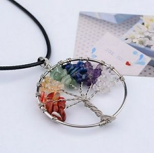 Jewelry - *Rainbow tree necklace